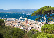Saint Tropez city, France Stock Photos