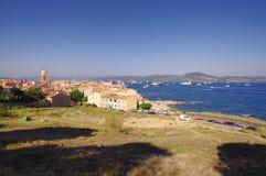 Saint Tropez city view Royalty Free Stock Photo