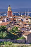Saint Tropez cityscape Stock Photos