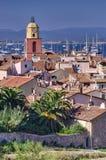Saint Tropez cityscape Stock Photos