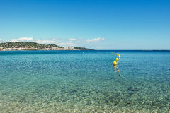 Saint tropez clear water Royalty Free Stock Photography