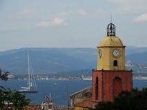 Saint-Tropez Frankreich Stockbild