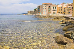 Saint-Tropez, French Riviera. The city of Saint-Tropez, French Riviera royalty free stock photos