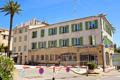 Saint Tropez - Gendarmerie building Royalty Free Stock Photo