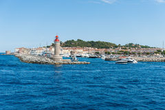 Saint Tropez harbor Stock Photos