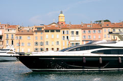 Saint-Tropez Luxury Yacht French Riviera Royalty Free Stock Images