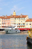Saint-Tropez Luxury Yacht French Riviera Royalty Free Stock Photography