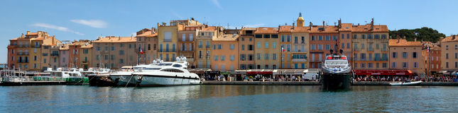 Saint Tropez - Panoramic view Stock Image