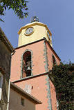 Saint Tropez, parish church, Southern France, Europe Royalty Free Stock Photo