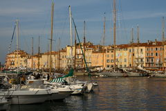 Saint Tropez port Stock Photography