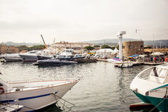 Saint Tropez Port, France Stock Photography
