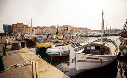 Saint Tropez Port, France Stock Photos