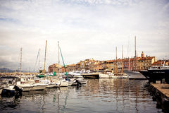 Saint Tropez Port, France Royalty Free Stock Image
