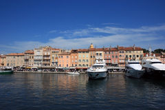 Saint Tropez quay 3 Stock Photo