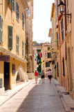 Saint-Tropez Street French Riviera Stock Images