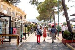 Saint-Tropez Street French Riviera Royalty Free Stock Photos