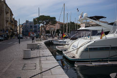 Saint Tropez Yacht Stock Images