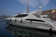 Saint Tropez Yacht Royalty Free Stock Image