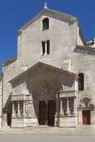 Saint Trophime Church Stock Photo