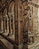 Saint Trophime cloister Stock Photo