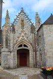 Saint Tugen chapel in Primelin Stock Photo