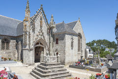 Saint Tugen in Primelin Royalty Free Stock Image