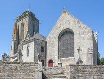 Saint Tugen in Primelin Stock Photos
