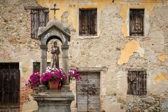 Il Santo in Tuscany. The saint of tuscany, one of the many sanctuaries of the roads that cross it royalty free stock photography
