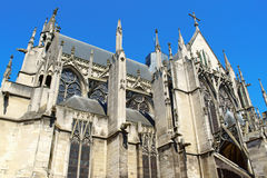 Saint-Urbain Basilica in Troyes, France Stock Images