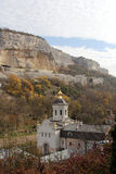 Saint Uspensky Cave Monastery in Crimea Stock Photography