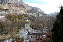 Saint Uspensky Cave Monastery, Crimea Royalty Free Stock Photos