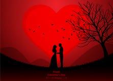 Saint Valentin, épousant illustration libre de droits