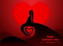 Saint Valentin, épousant Image stock