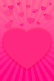 Saint-Valentin background-12 rouge Image stock