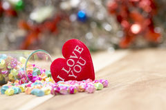 Saint Valentin, collection Images stock