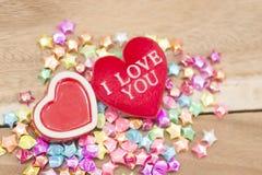 Saint Valentin, collection Image stock