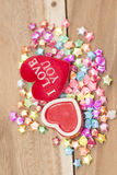Saint Valentin, collection Photographie stock
