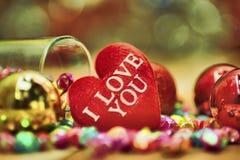 Saint Valentin, collection Photos stock