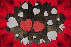 Saint-Valentin de coeurs photographie stock