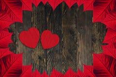 Saint-Valentin de coeurs photo stock