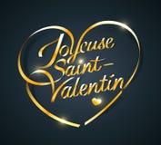 Saint-Valentin de Joyeuse ilustração do vetor