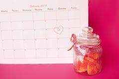 Saint-Valentin de saint - 14 de février Photo stock