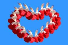 Saint-Valentin de vacances Image libre de droits