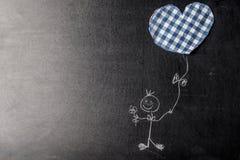 Saint-Valentin, garçon dans l'amour Photo stock