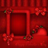 Saint-Valentin heureuse Photographie stock libre de droits