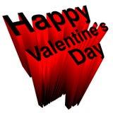Saint-Valentin heureuse Photo libre de droits
