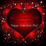 Saint-Valentin heureuse Image libre de droits