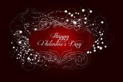Saint-Valentin heureuse Images stock