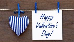 Saint-Valentin heureuse ! image libre de droits