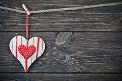 Saint-Valentin heureuse de vacances Image stock